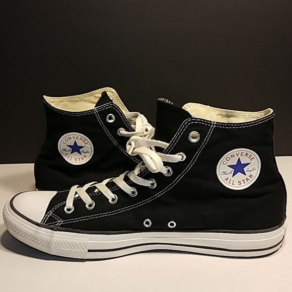 Chuck Tops High Black Star Converse Taylor All m8vnN0w